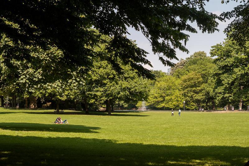 Jardín del Pueblo: El Volksgarten